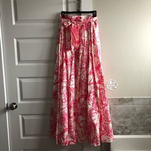 Lilly Goop Maxi Skirt NWT